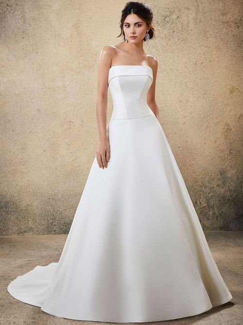 Strapless Morilee Blu Bridal Gown Roderica 5778