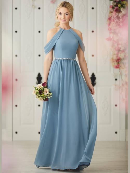 Halter bridesmaid dress Christina Wu 22921