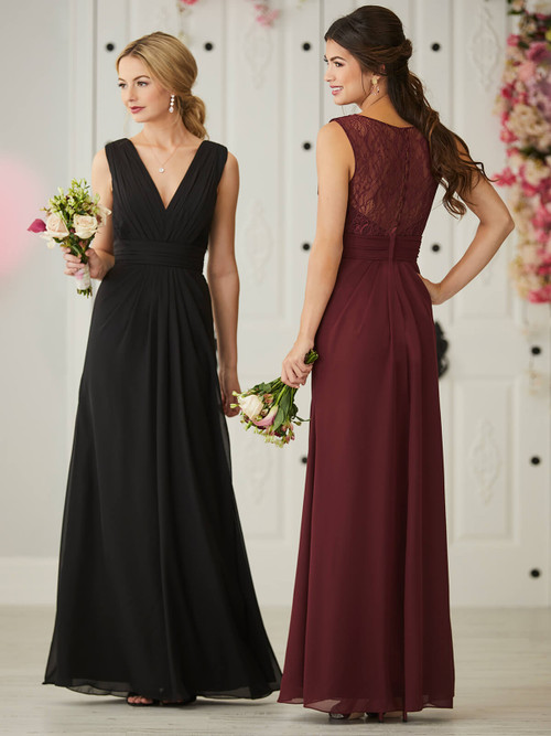 A-line bridesmaid dress Christina Wu 22928
