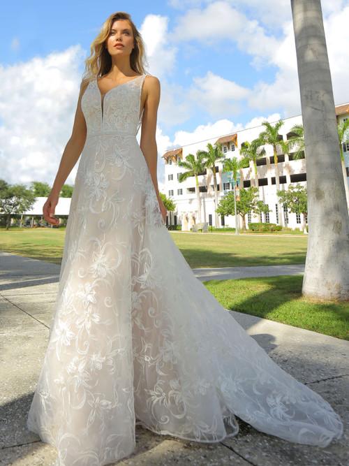 plunging wedding dress randy fenoli abby