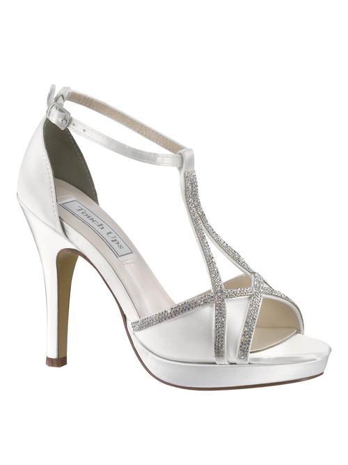 Rhinestone Wedding Shoe Harlow 4203 by Touch Ups