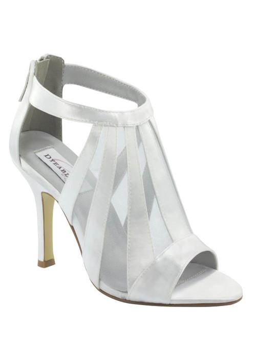 Peep Toe Wedding Heels by Touch Ups Lotus 31113