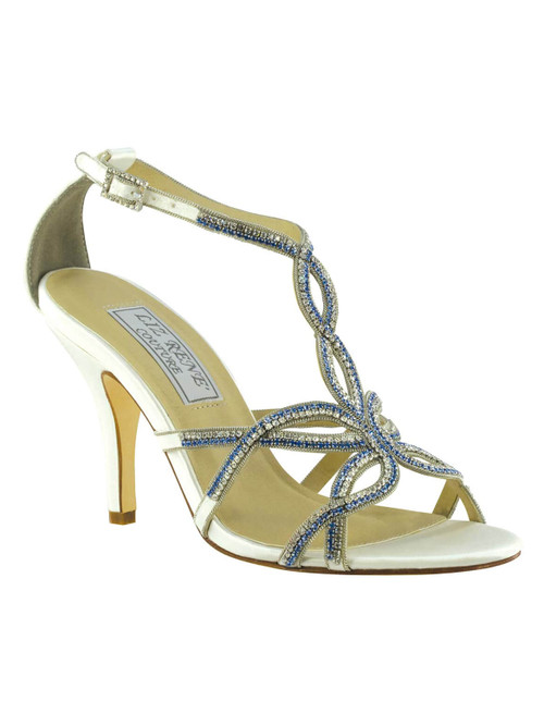 Embellished Bridal Heels by Touch Ups Maggie 704