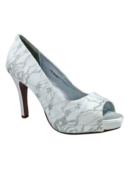 Peep Toe Wedding Shoes by Touch Ups Winter 32914