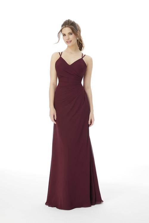 V-neck Morilee Bridesmaid Dress 13103