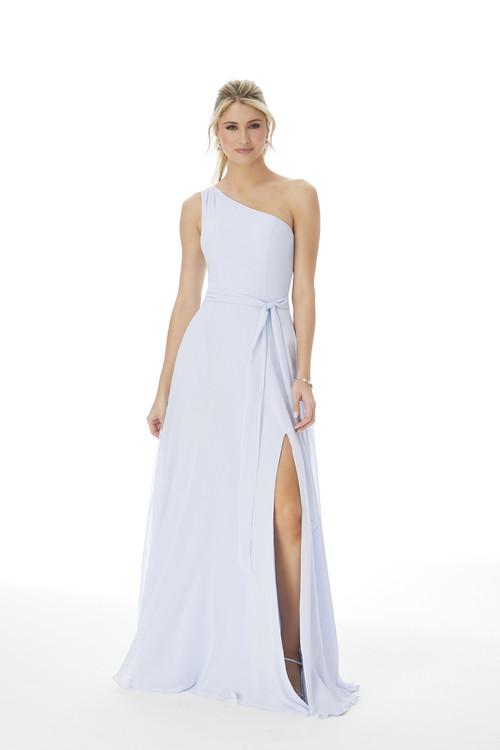 One Shoulder Morilee Bridesmaid Dress 13105