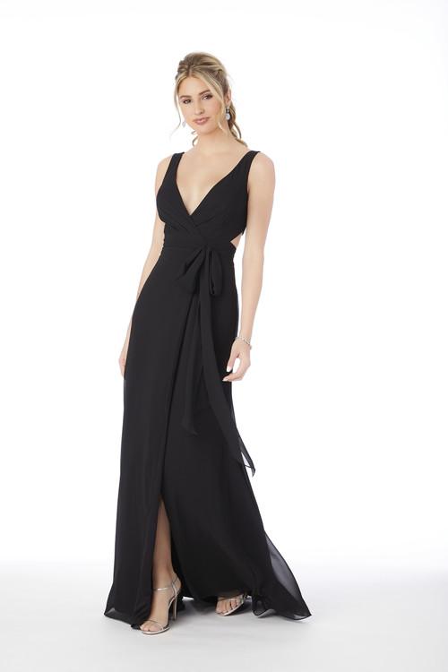 V-neck Morilee Bridesmaid Dress  21681