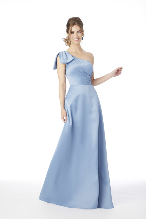 One Shoulder Morilee Bridesmaid Dress  21682