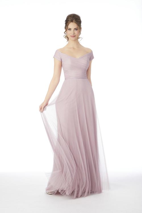 Off The Shoulder Morilee Bridesmaid Dress  21683
