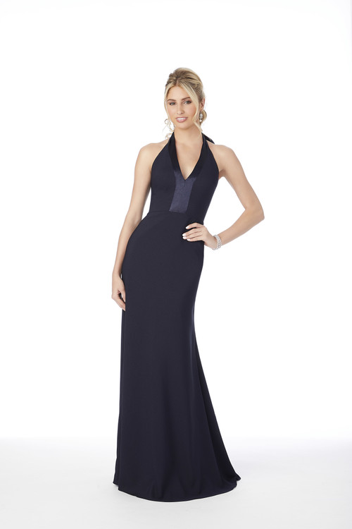 Halter Morilee Bridesmaid Dress  21684