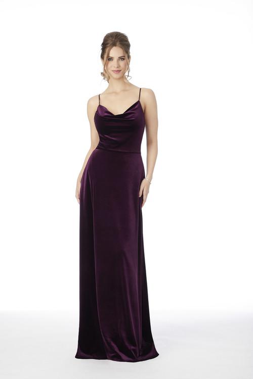 Cowl Neckline Morilee Bridesmaid Dress  21685