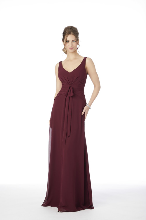 V-neck Morilee Bridesmaid Dress  21691
