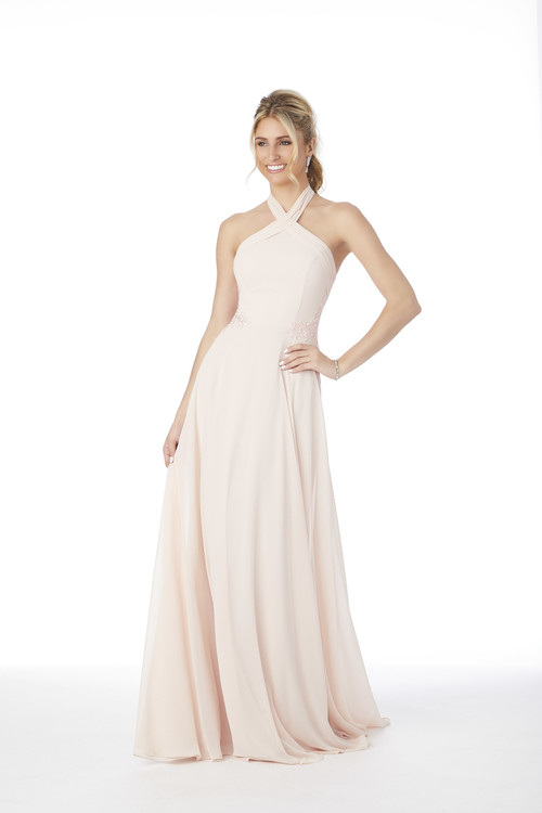 Halter Morilee Bridesmaid Dress  21693