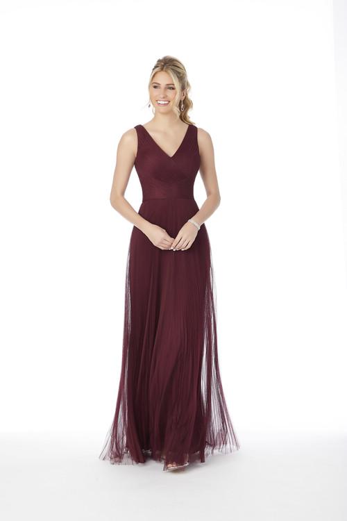 V-neck Morilee Bridesmaid Dress  21694