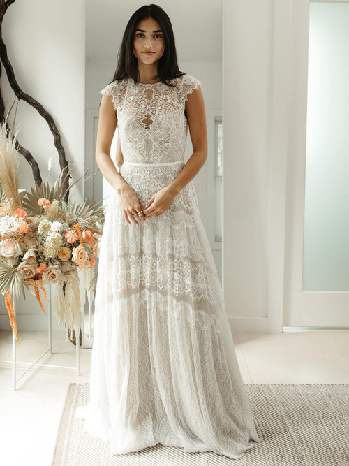 A-line Wedding Gown Willowby Mikaela 55703