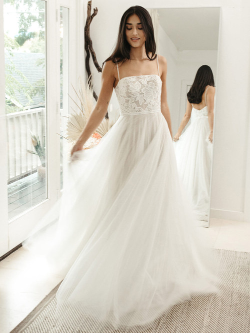 A-line Wedding Gown Willowby Hazel 55710