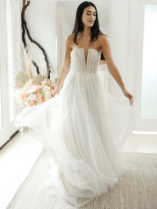 A-line Wedding Gown Willowby Aeryn 56601