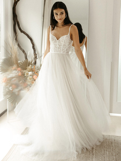 A-line Wedding Gown Willowby Marlo 56701