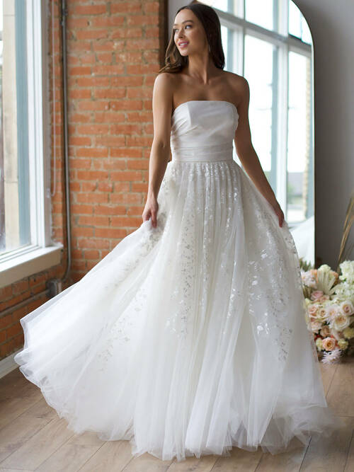 A-line Wedding Gown Wtoo Ellie 15714