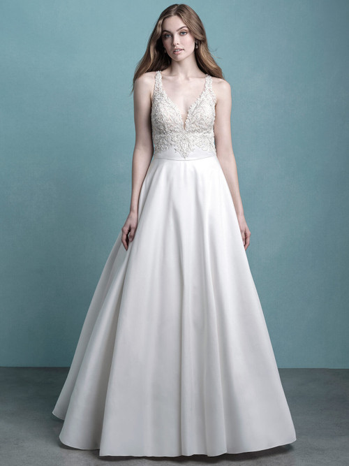 A-Line Bridal Gown by Allure 9772