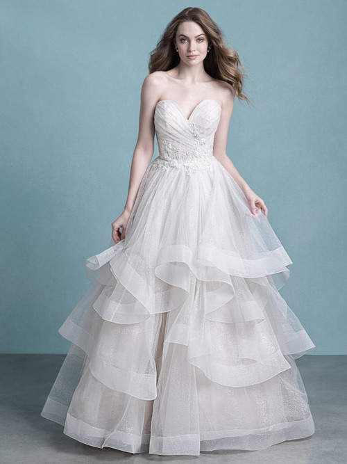 Sweetheart Bridal Ball Gown by Allure 9777