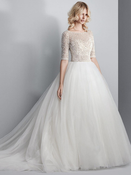 Ball Gown Sottero and Midgley Wedding Dress Allen