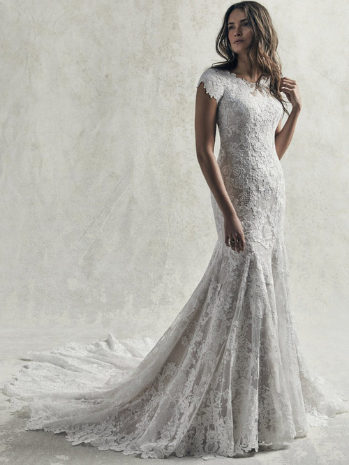 Fit and Flare Sottero and Midgley Wedding Gown Chauncey Leigh
