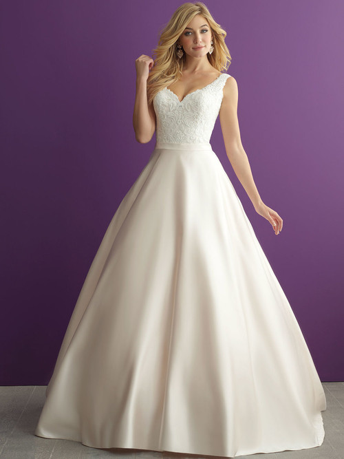 Allure Romance 2951 V-neck Wedding Dress