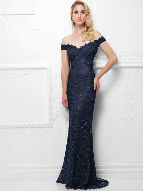 Montage 117920 Off The Shoulder Mother Of The Bride Dress