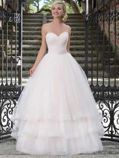 Sincerity 3890 Sweetheart Tulle Ball Gown Bridal Dress