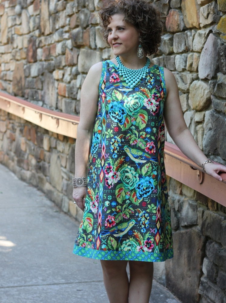 Mia Shift Dress (Pattern)