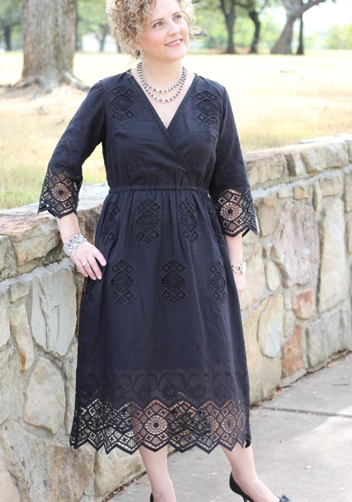 Nora Faux Wrap Dress (Pattern)