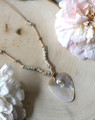 Shell & Leather Necklace
