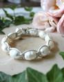 Freshwater Pearl & Macrame Leather Bracelet