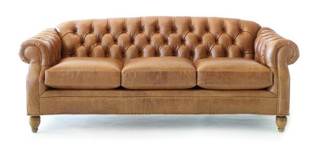 - Chesterfield Tufted Sofa - Buffalo Collection