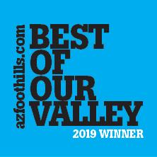 Arizona Foothills - 2019 Best of Valley Winner