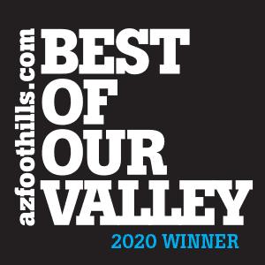 2020 AZ Foothills Best of Valley Award