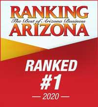 Voted #1 in Ranking Arizona, 2020