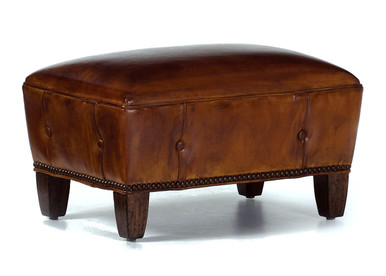 Holt Footstool - Buffalo Collection