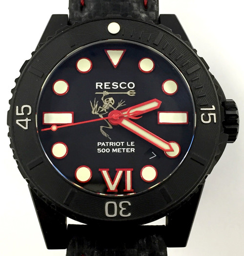 Resco Patriot Gen 2 Limited Edition Red Dial w/Red Hands