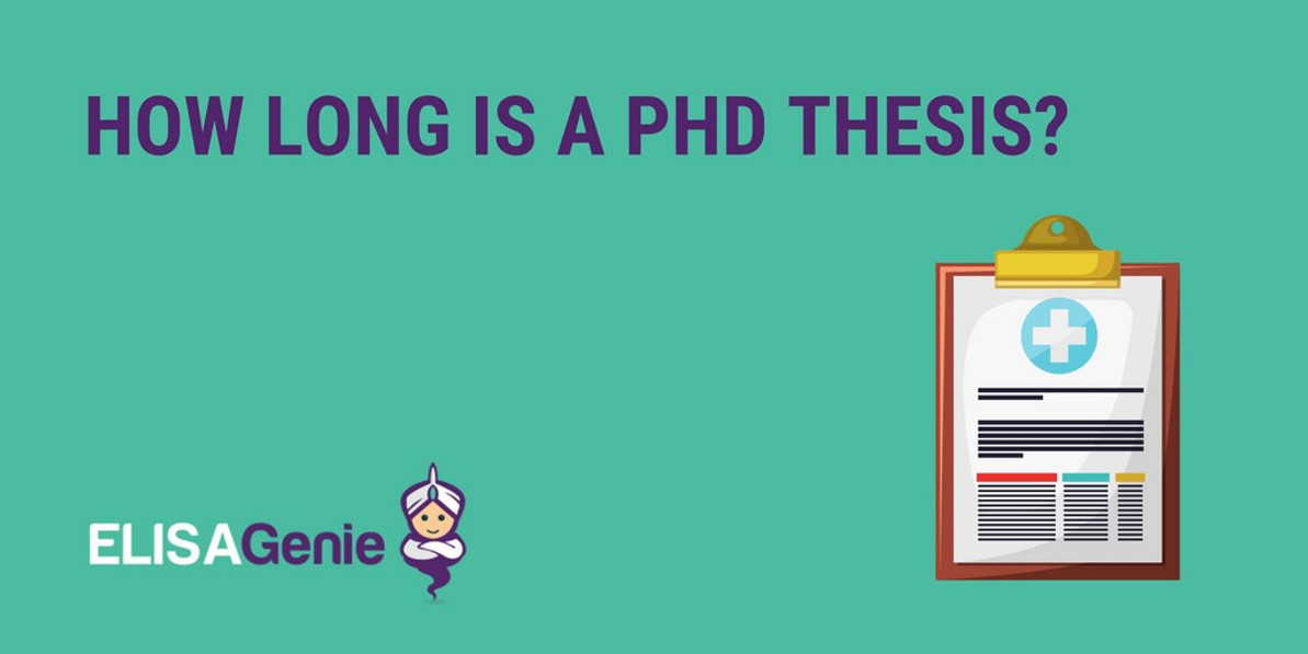 How long is a PhD thesis?
