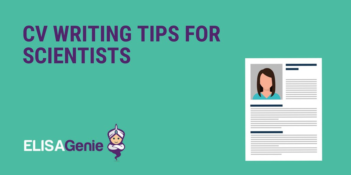CV writing tips for scientists