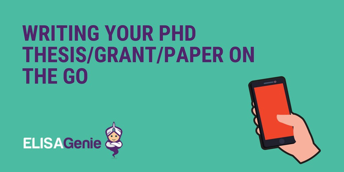 Writing your PhD thesis/Grant/Paper on the go