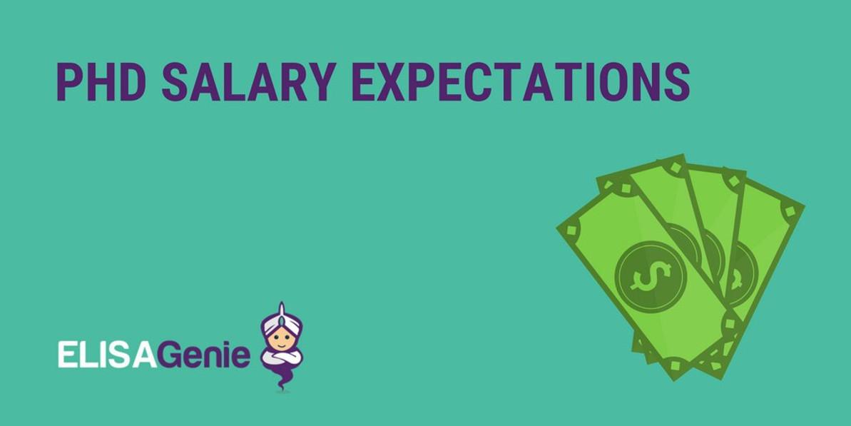 PhD salary expectations