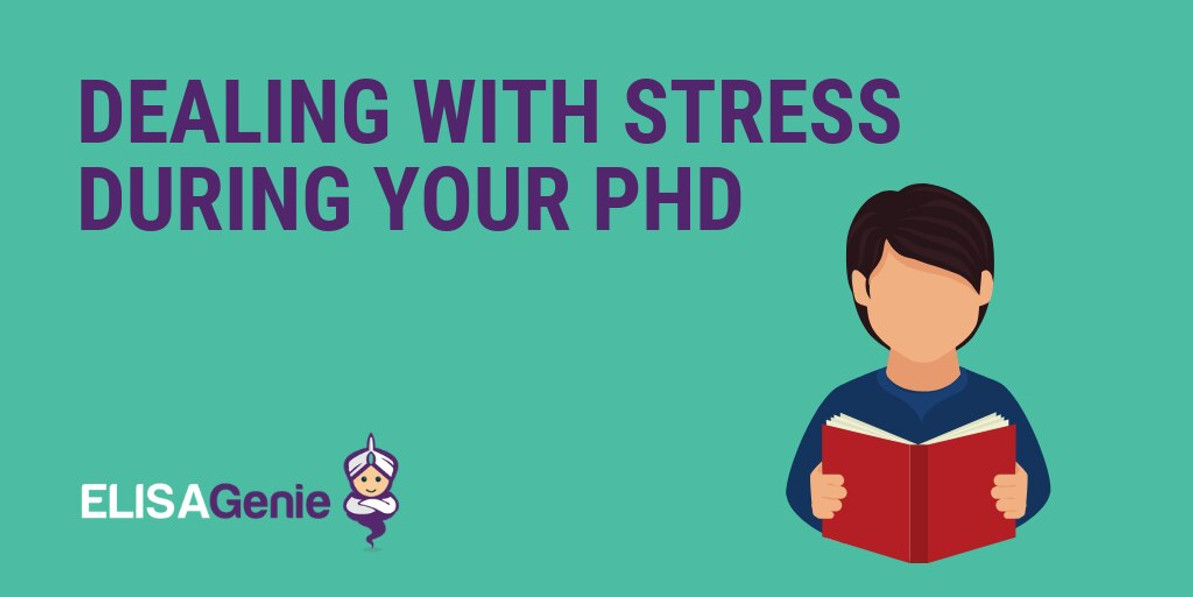 Dealing with stress during your PhD