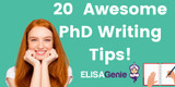 20 Awesome PhD thesis tips