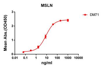 Anti-mesothelin antibody DM71 Rabbit mAb HDAB0058