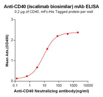 Anti-CD40 iscalimab biosimilarmAb HDBS0020