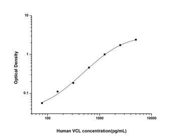 Human Cell Biology ELISA Kits 1 Human VCL Vinculin ELISA Kit HUES02763