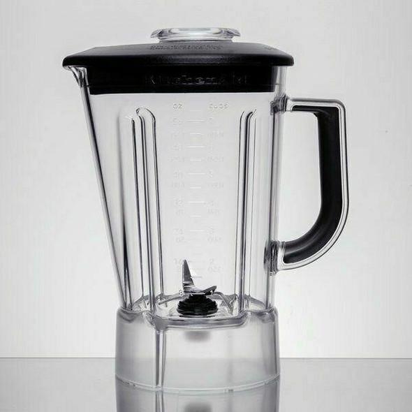 KitchenAid KITCHENAID BLENDER JAR KSB56POB ONYX BLACK PLASTIC PITCHER IN HEIDELBERG